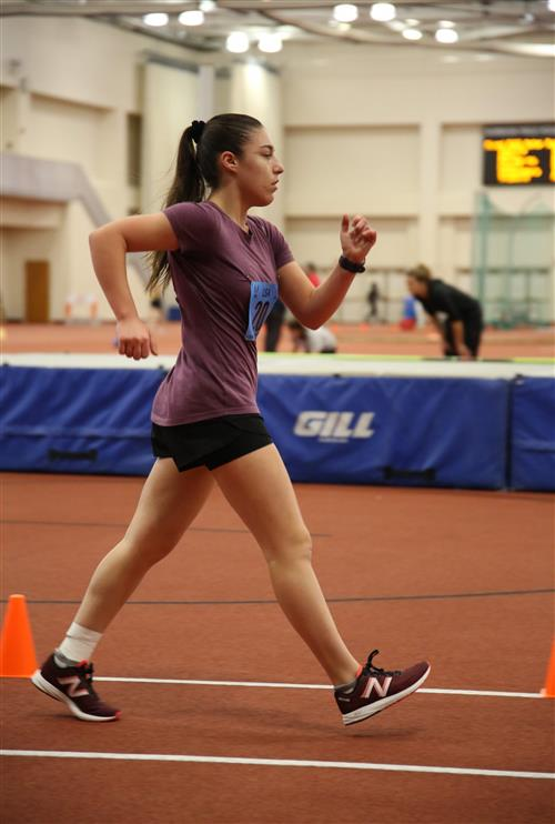 North HS Sophomore Competes at the USATF Niagara Indoor Track & Field Championship